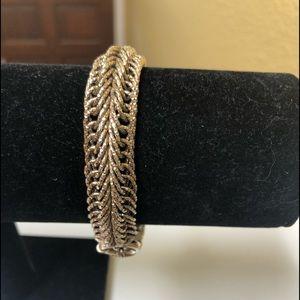 """Gold 8"""" Mesh Bracelet"""
